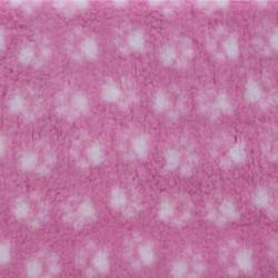 Vet Bed makuualusta: pinkki valkoisilla tassuilla