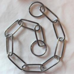 Metallinen pitkälenkkinen kaulain 3mm