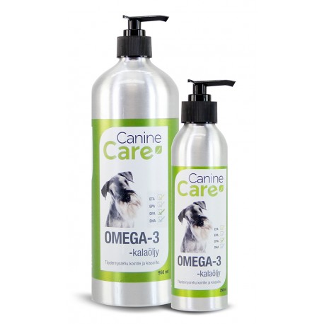 Canine Care Omega-3 -kalaöljy